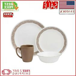Dinnerware Set Corelle Livingware 16Pc Dinnerware Set 16Pc D