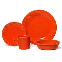 Fiesta 16-Piece Dinnerware Set | Poppy