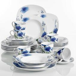 dinnerware set royal flower patterns ceramic tableware