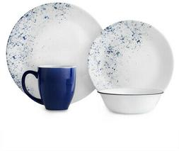 CORELLE Dinnerware Set Speckle, Stackable and Chip Resistant