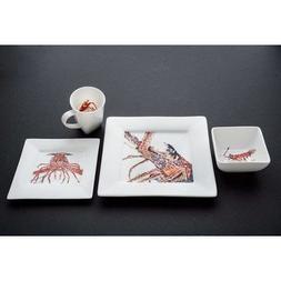 Kim Rody Creations Dinnerware Sets  Desperado Lobster Collec