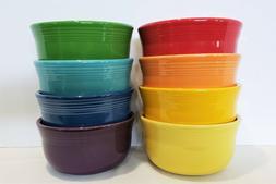 Fiesta Dinnerware Fiestaware New 2nds, Lot of 8 Gusto Soup B