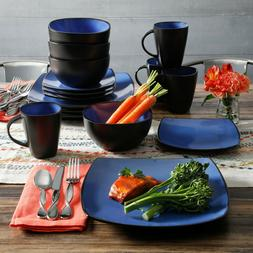 Dishes Dinnerware Sets Clearance RV 16PC Dishware Complete B