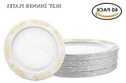 disposable plastic plates heavyweight china