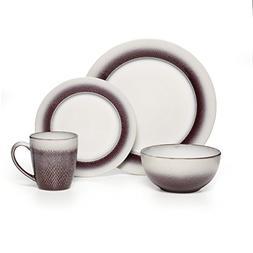 Pfaltzgraff® Eclipse Plum 16-pc. Dinnerware Set
