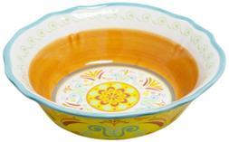 Euro Ceramica Egyptian Cereal Bowl, Set of 4