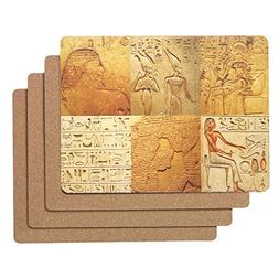 Caramella Bubble Egyptian Cork Placemats | Hard Placemats fo