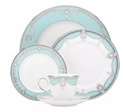 elegant tiffany blue empire pearl 49 pcs