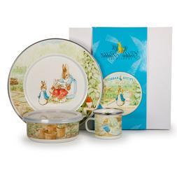 Golden Rabbit Enamelware Beatrix Potter 3 Piece Child Babywa