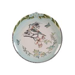 Fitz and Floyd 21-056 English Garden Stoneware Accent Plate