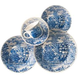 english scenery collection biona dinnerware