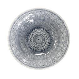 Euro Ceramica 86699VBG Fez in Grey Serving Bowl, Multicolor