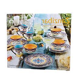 Euro Ceramica Inc. YS-ZB-1001 Zanzibar Collection Vibrant Ce