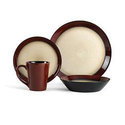 Pfaltzgraff Everyday Aria Red 16-piece Dinnerware Set