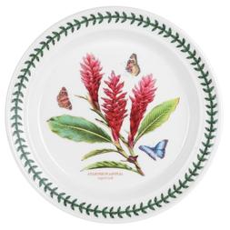 Portmeirion Exotic Botanic Garden Dinner Plate with Red Ging