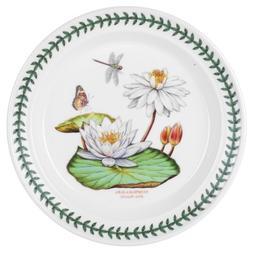 Portmeirion Exotic Botanic Garden Dinner Plate with White Wa