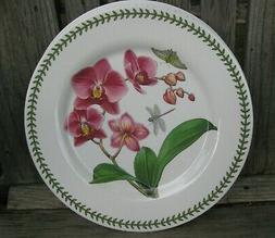 PORTMEIRION EXOTIC Botanic Garden MELAMINE Dinner Plates Orc