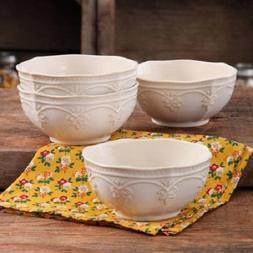 The Pioneer Woman Farmhouse Lace Bowl Set | Antique Finish D