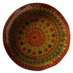 Festa Flower Large Round Platter - Italian Dinnerware - Roun