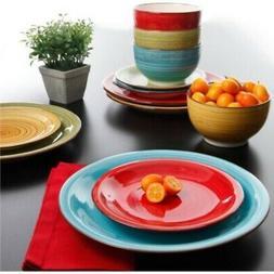 Better Homes and Gardens Festival 12-Piece Dinnerware Set, A