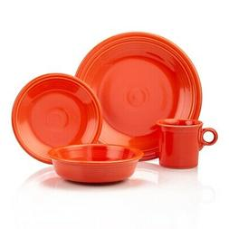 Fiesta 4-Piece Place Setting, Poppy