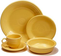 Fiesta 20-pc. Dinnerware Set, Sunflower.