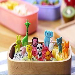 Food Picks Bento Box Accessories New Arrival Mini Animal Car