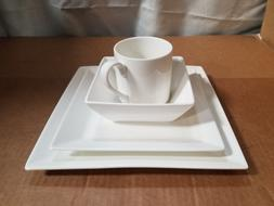 Fortessa Fortaluxe SuperWhite Vitrified China Dinnerware, Pl