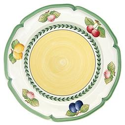 French Garden Fleurence Dinner Plate Set of 6 by Villeroy &