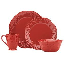 French Perle Cherry 4-piece Place Setting by Lenox