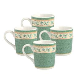 Pfaltzgraff French Quarter Set of 4 Mugs