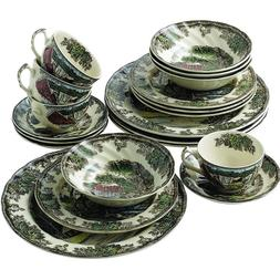 Johnson Brothers Friendly Village 20-Piece Set, Service for