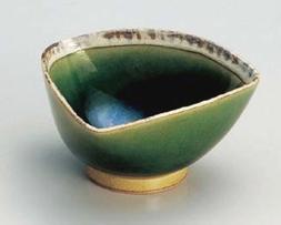 fuchi shino bowls japanese porcelain