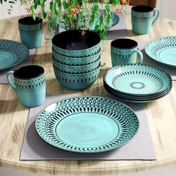 Fukuoka 16 Piece Dinnerware Set, Service for 4