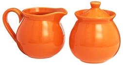Waechtersbach Fun Factory II Orange Sugar/Creamer Set