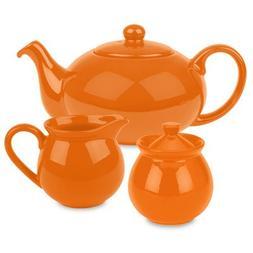 Waechtersbach Fun Factory Tea Set, Orange
