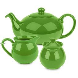 Waechtersbach Fun Factory Tea Set, Green Apple