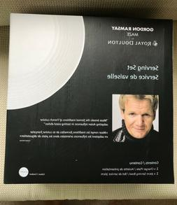 NEW IN BOX ~ GORDON RAMSAY MAZE by Royal Doulton ~ 2 Pc Serv