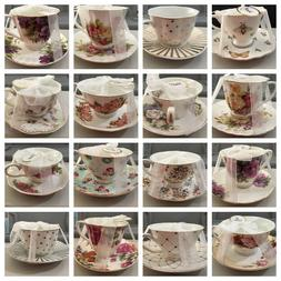 Grace's  Teaware Cup & Saucer Set Your Choice of One