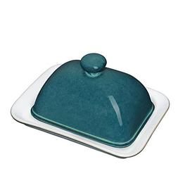 Denby Greenwich Covered Butter Dish