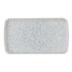 Denby USA Halo Rectangular Plate, Speckle