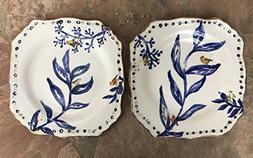 Handmade Dinnerware, handcrafted ceramic square dinner plate