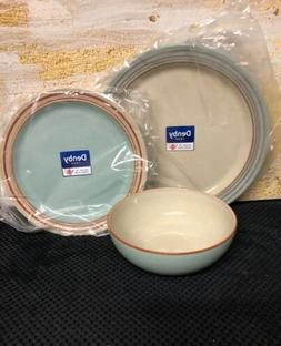 Denby Heritage Pavilion 3Pc Place Setting Service For One Ma