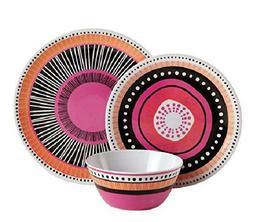 Gibson Home 107282.12 Almira 12 Piece Melamine Dinnerware