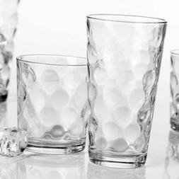 Home Essentials Galaxy Glassware Set , Clear