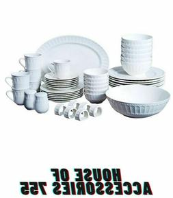 Gibson Home Regalia 46-Piece Dinnerware and Serveware Set Se