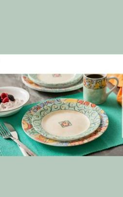 Corelle Impressions 16-Piece Dinnerware Set, Watercolors Flo