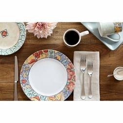 Corelle Impressions Watercolors 16 Piece Dinnerware Plates S