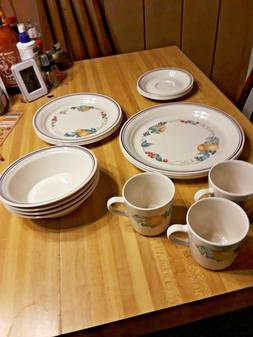 Corelle Impressions 20-Piece Dinnerware Set, Service for 4,