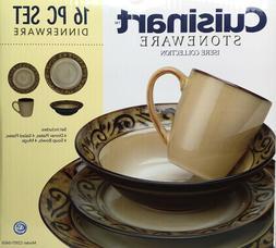 Cuisinart Isere Stoneware 16 Pc Dinnerware Set